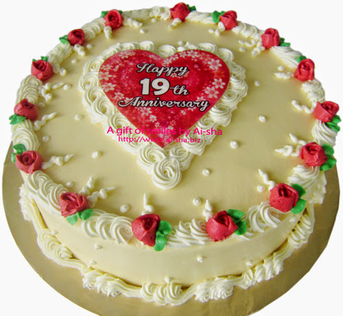 Red Velvet Cake Edible Image