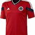Adidas divulga camisa reserva da Colômbia para a Copa do Mundo