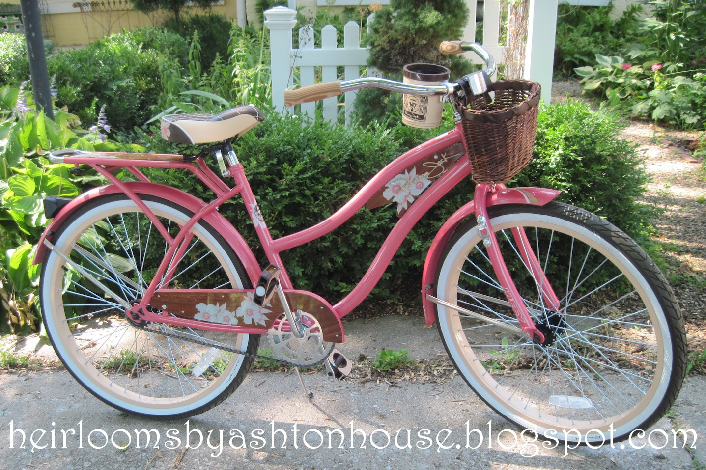 Heirlooms by Ashton House: BLISS IS A PINK BIKE
