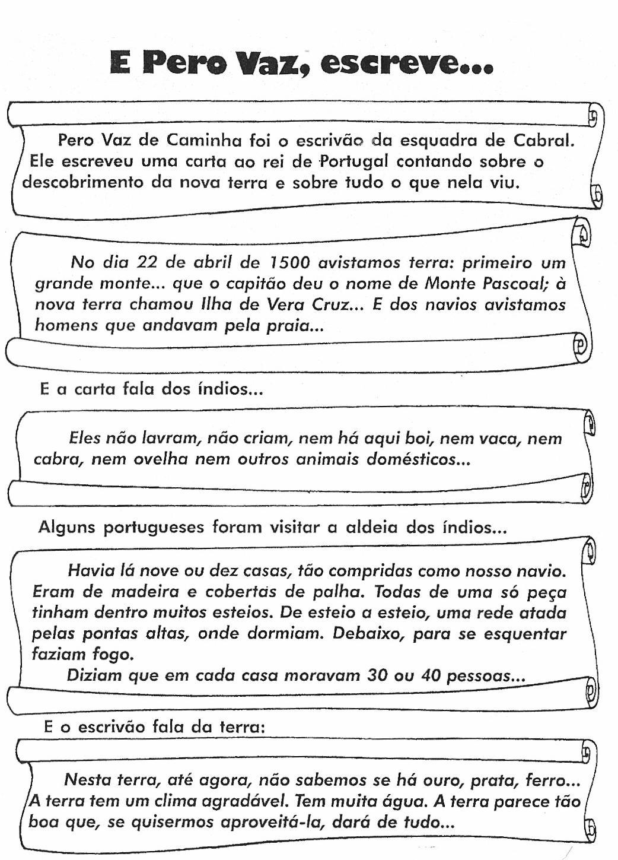 DESCOBRIMENTO DO BRASIL   ATIVIDADES E DESENHOS PARA COLORIR III