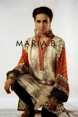 Fashion She9 Dress Collection For Women 2013-2014 | Maria.B Eid Wear Dress Collection 2013-2014 For Women By Fashion She9