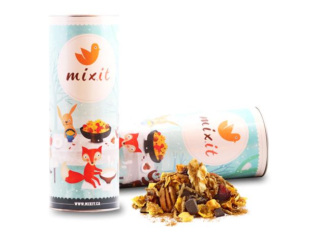 Le mélange de céréales des fêtes de Mixit