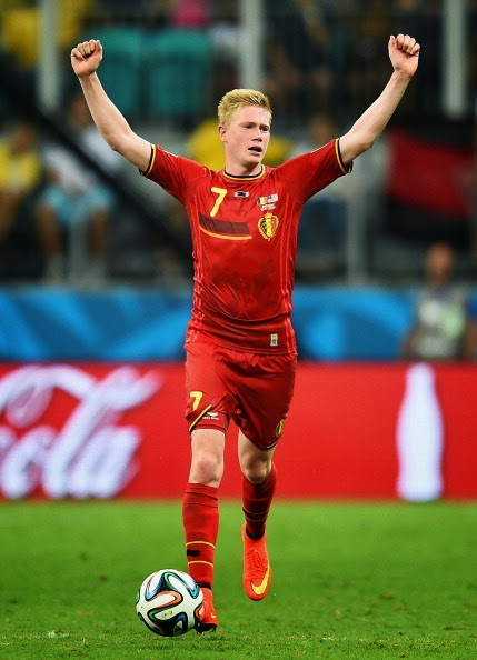 de bruyne diables rouges
