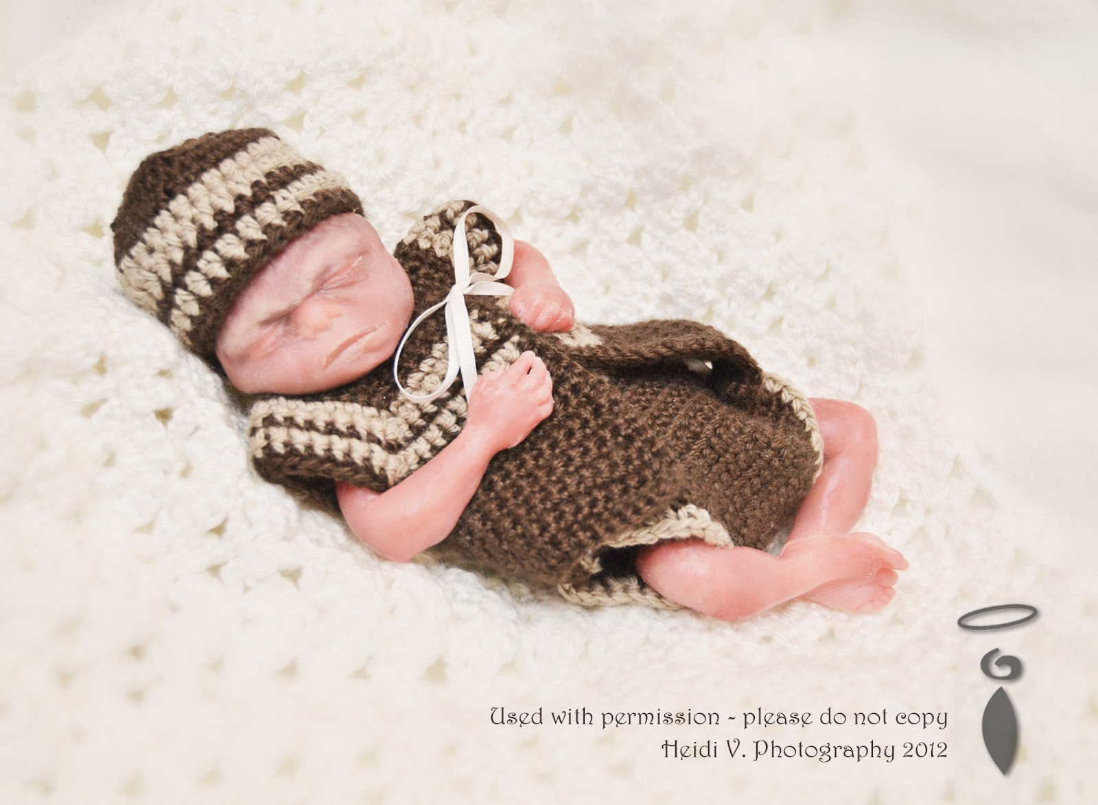 Love You More Than A Bus Angel Baby Crochet Outfits