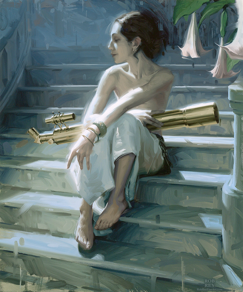 Observation by Rob Rey - robreyfineart.com