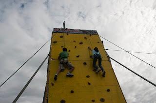 R.O.X wall climbing