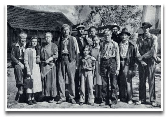 the study of the joad family in the grapes of wrath by john steinbeck This heart-wrenching opera, based on the classic novel by john steinbeck, tells  the story of the joad family on their quest for survival during the 1930s dust.