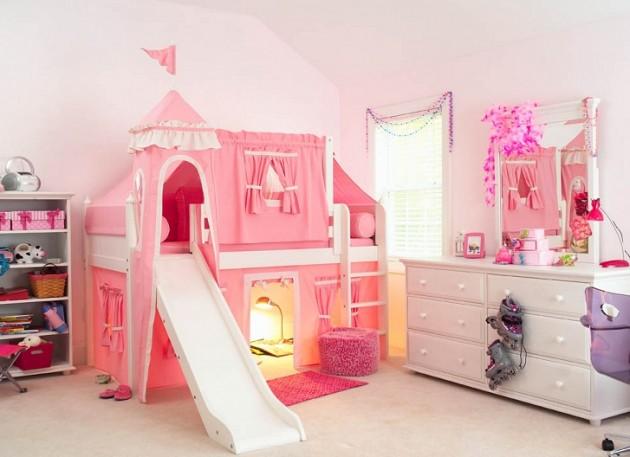Maravillosas camas de fantas a para encantar a tu hijo o for Cuarto para nina hello kitty