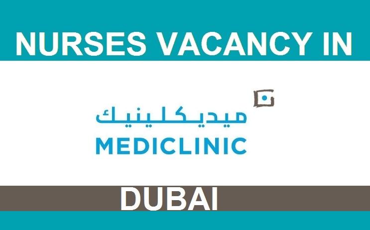 NursesVacancy.com: NEW JOB VACANCIES @ DUBAI MEDICLINIC