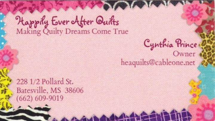 Happily Ever After Quilt Shop