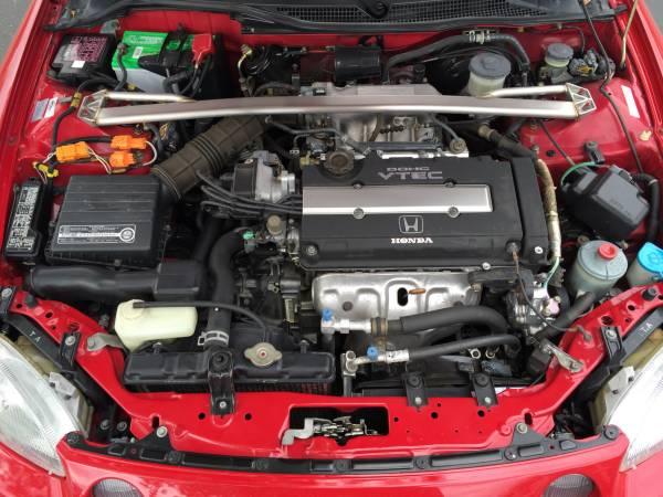 One Of The Best, 1995 Honda Del Sol | Auto Restorationice