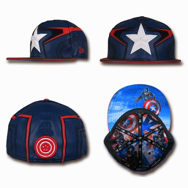 Marvel's Avengers Age of Ultron Armor 59Fifty Cap Collection by New Era - Captain America