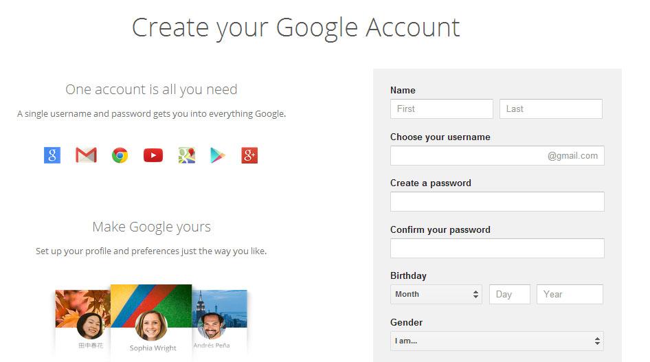 Cara Membuat Email Gmail 2