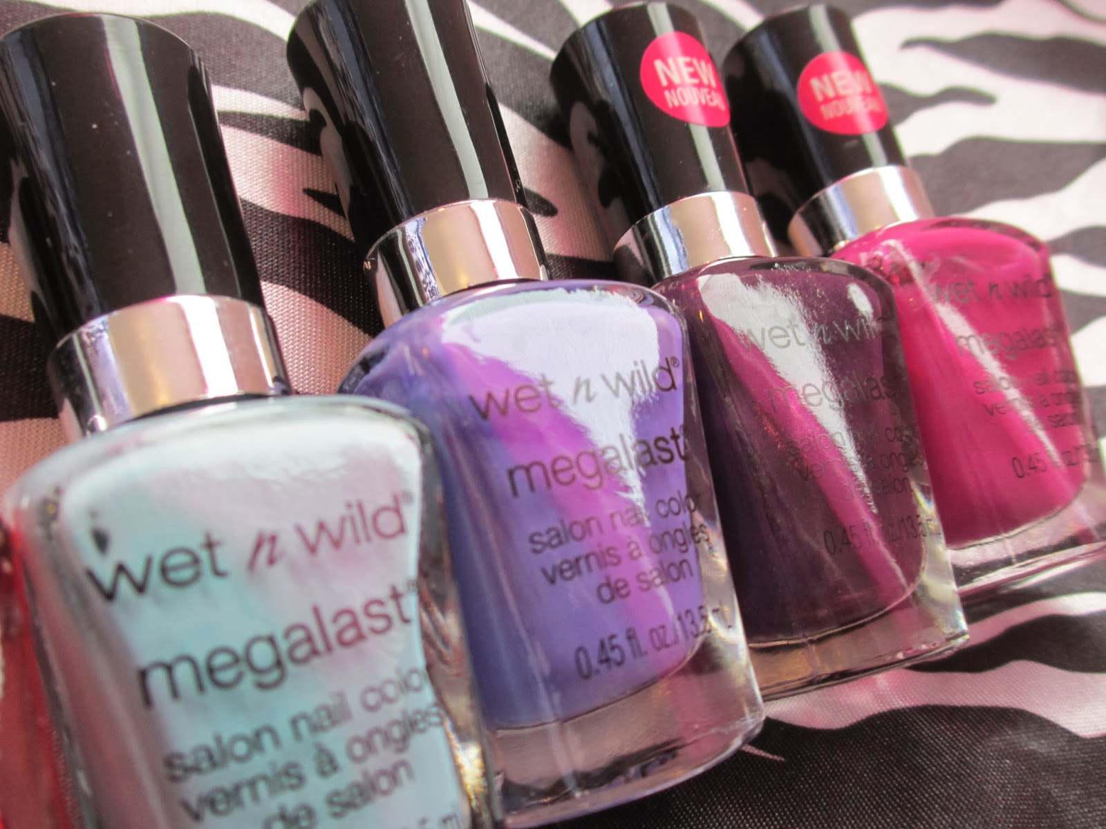 Hot Glue Sparkle Wet N Wild Megalast Nail Polishes Review Photos Salon Color Candylicious Retailers Okay If Youre Anything Like Us Then You Are Probably Squealing With Joy Just Looking At These Pretty Pictures