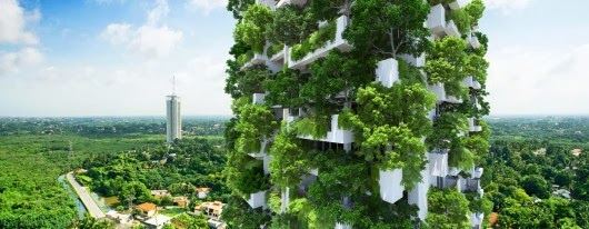 Aaa asie architecture actualites jardins suspendus ou for Architecture vegetale