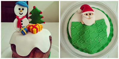 Natal 2014: Cupcakes da Lu