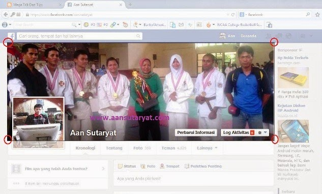 Cara Menentukan Ukuran Foto Sampul Facebook Dengan Photoshop CS5