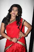 Sowmya glamorous half saree photos-thumbnail-2