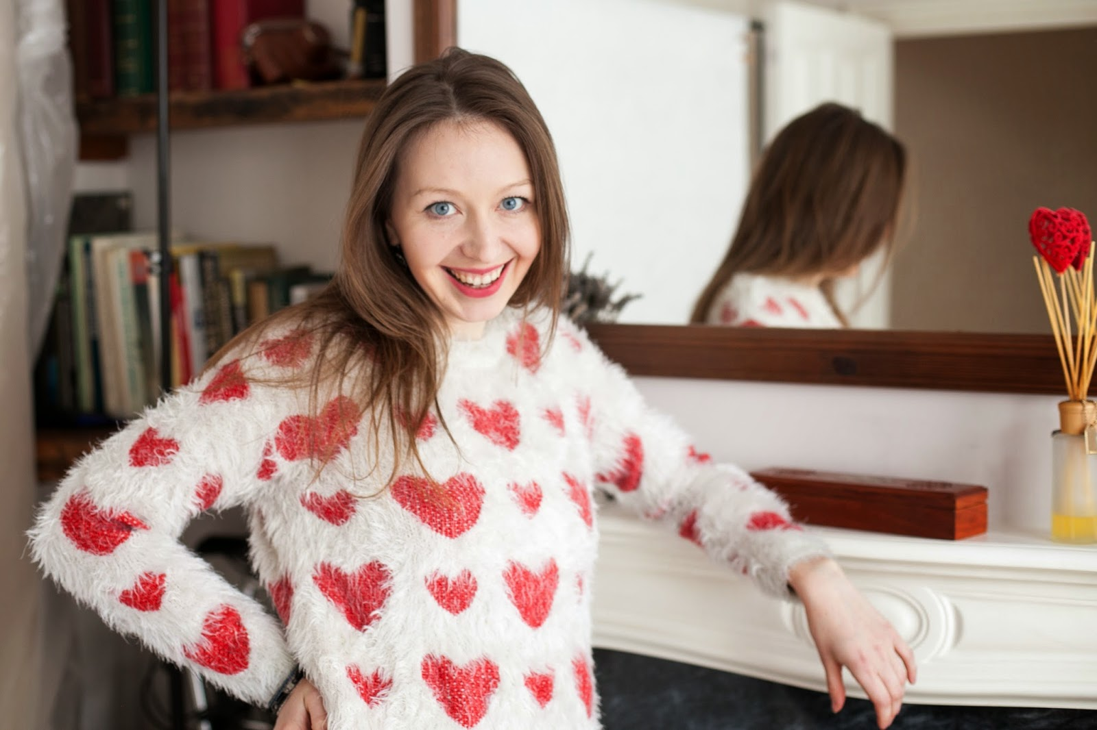 Just in Style spread the love hearty jumper