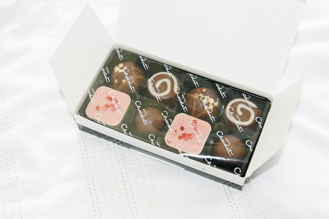 Katherine Penney Chic Food Chocolate Hotel Chocolat Life Fancy Box of chocolates