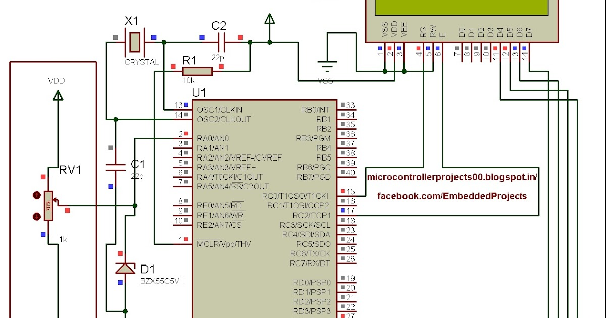 digital voltmeter using 8051 microcontroller essay Vivekanand education society's digital voltmeter using 89c51 micro controller the digital voltmeter designed uses a microcontroller which is said to be highly.