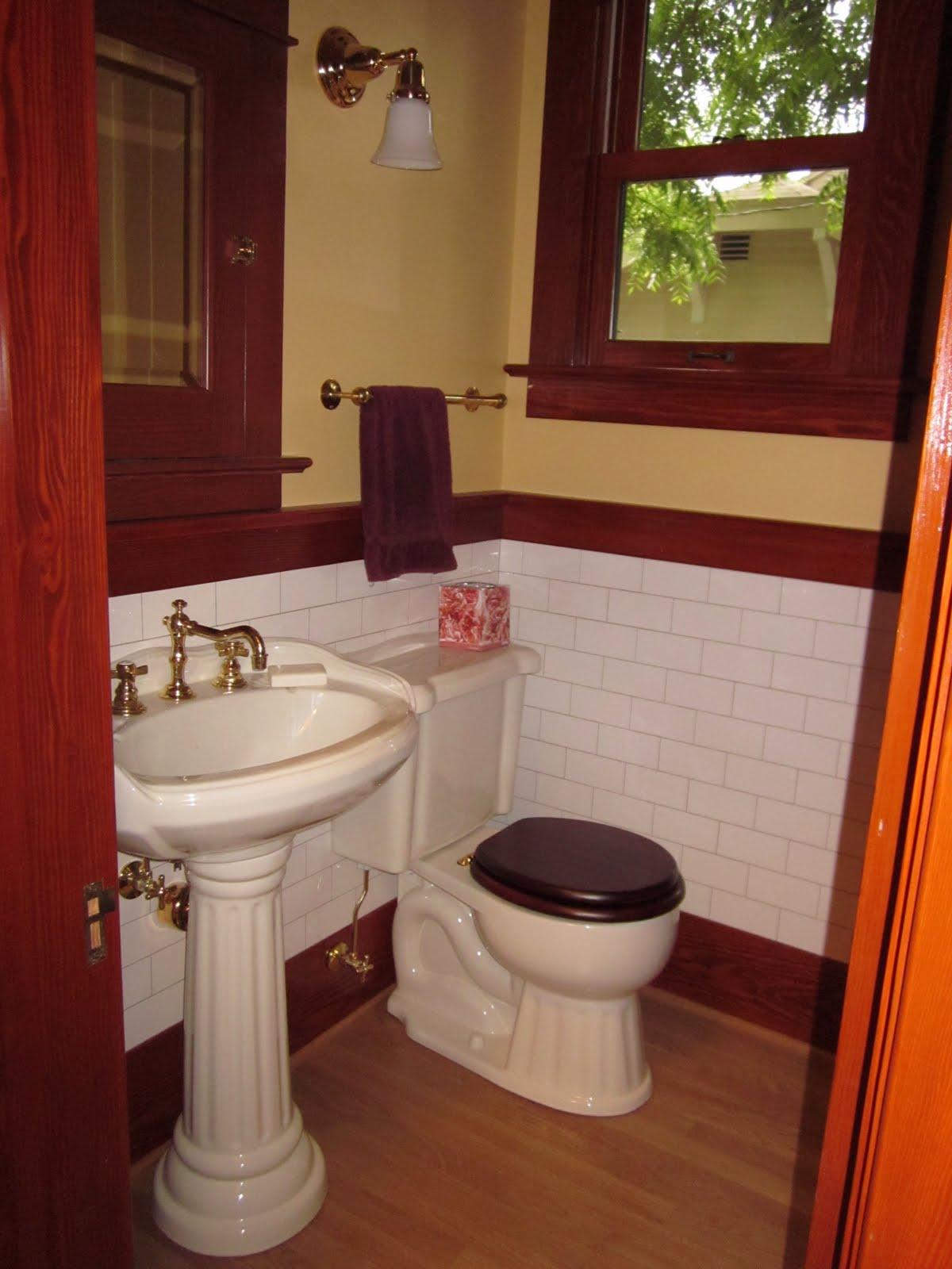 Laurelhurst craftsman bungalow main floor bathroom remodel for Redo bathroom floor