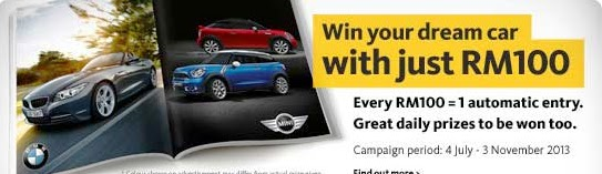 Maybank Win Your Dream Car Contest (Malaysia)