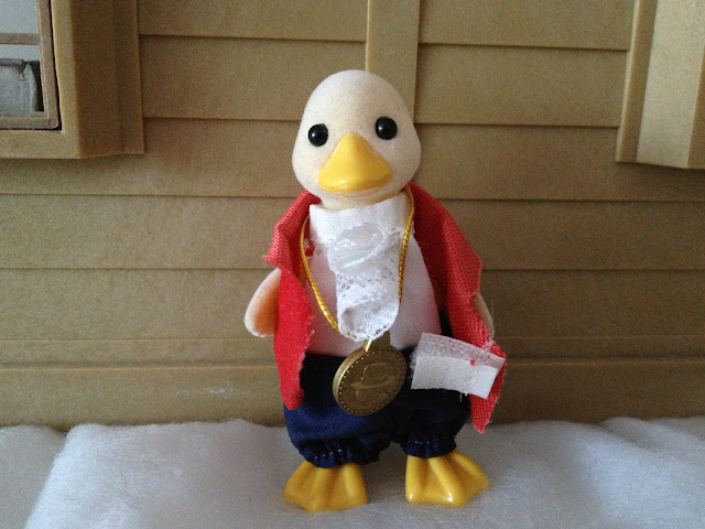 Sylvanian Families Mayor Bill Waddlington Ducks