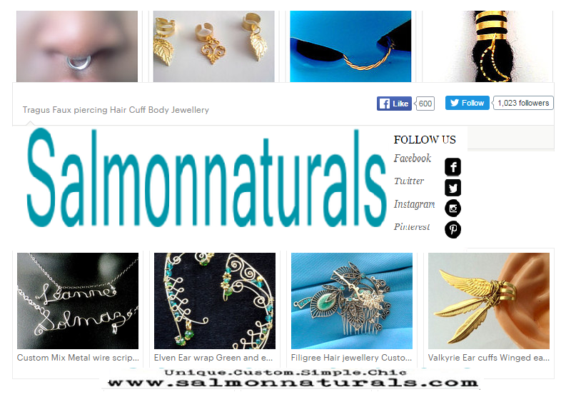 Salmonnaturals Custom Unique Tribal Chic Shop
