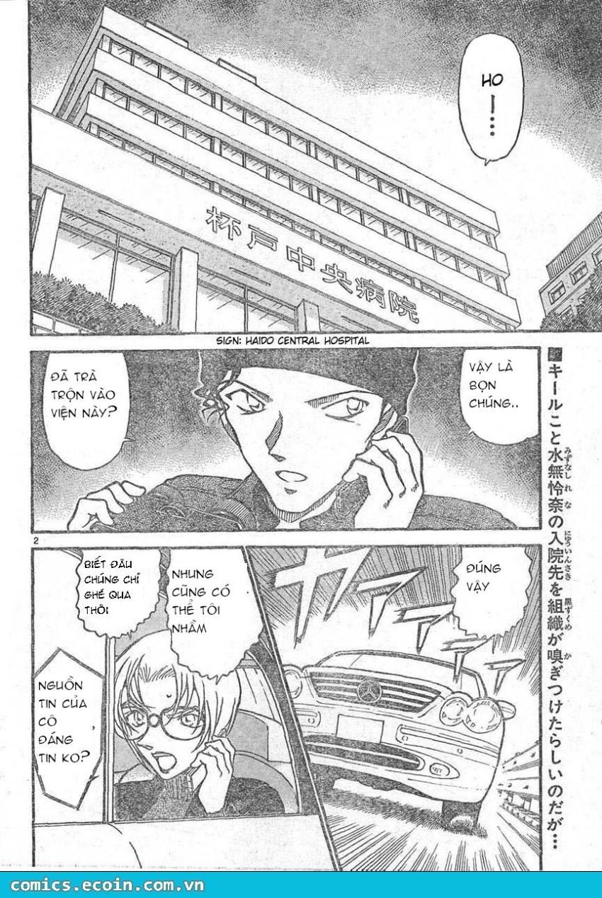Detective Conan - Thám Tử Lừng Danh Conan chap 596 page 2 - IZTruyenTranh.com