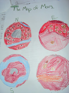 Solar System, student work, thematic units, Globicate, Heidi Befort