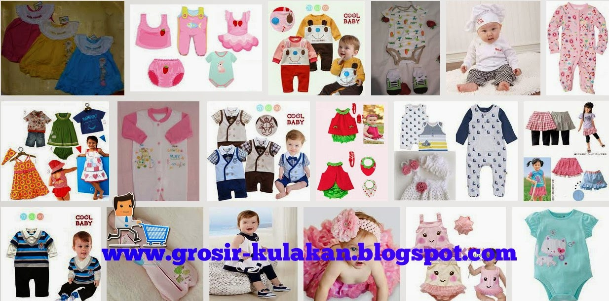 Supplier Baju Bayi Import