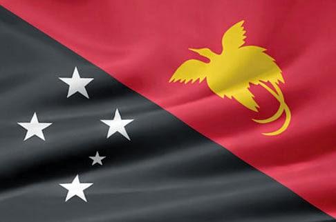 Bandiera della Papua Nuova Guinea