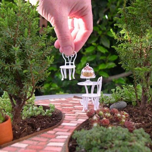 mini jardim reciclado:Blog Multiflora: Idéias Criativas – Mini Jardins