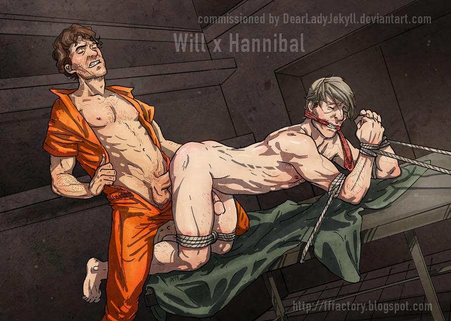 Will fucking captured Hannibal slash commission