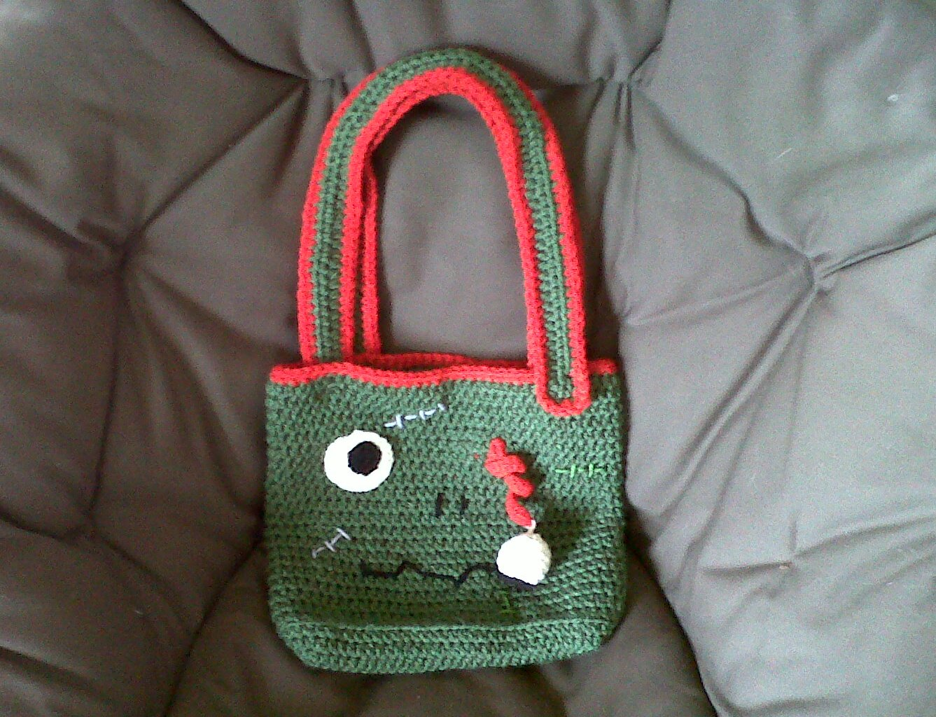Free Crochet Patterns Zombie : TheCrochetZombie: Free The Crochet Zombie Bag Pattern