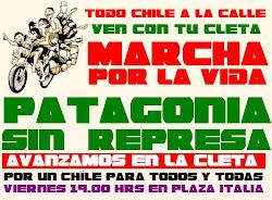 Ven con tu cleta, defiende la patagonía