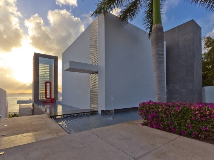 Luxury private villa for sale on Isla Mujeres - click on photo to follow link