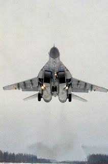 Посадка МиГ 29