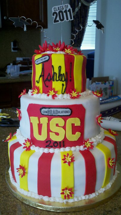 Usc Birthday Cake Images : Pin Usc Graduation Cakepops By Ccsweets Cakesdecorcom Cake ...