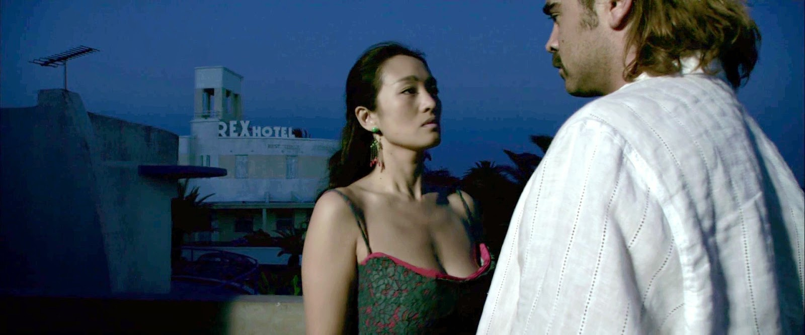 Song gong li sex scene miami vice