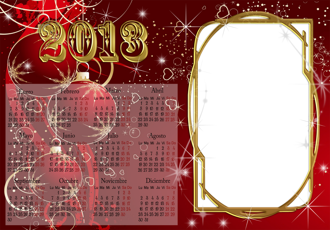 Calendarios De Navidad  Infantiles  Marcos Para Fotos De Amor  De