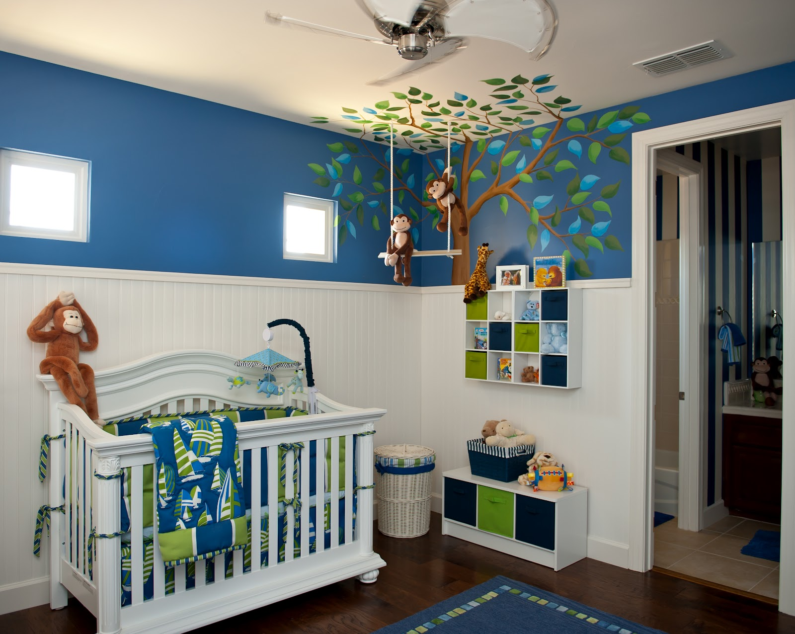 monkey business nursery design dazzle adorable monkey business nursery by sue vlautin of red geranium interiors vibrant colors with cool