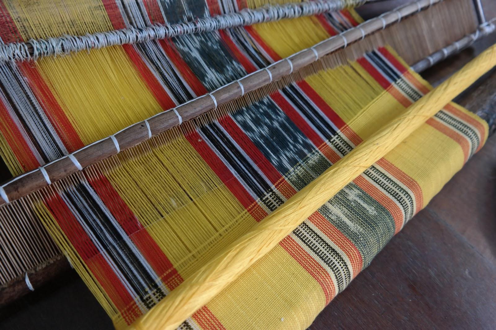 study mandaya weaving