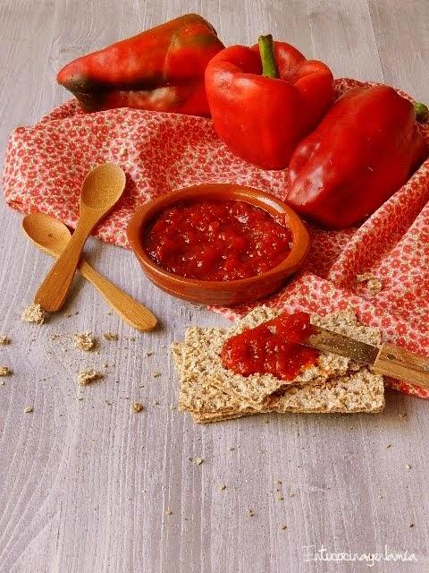 Mermelada de pimientos rojos cocinar en casa es - Como hacer mermelada de pimiento ...