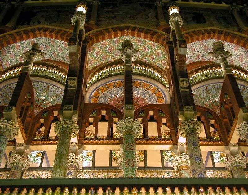 Design Dautore Com The Palau De La M 250 Sica Catalana Barcelona