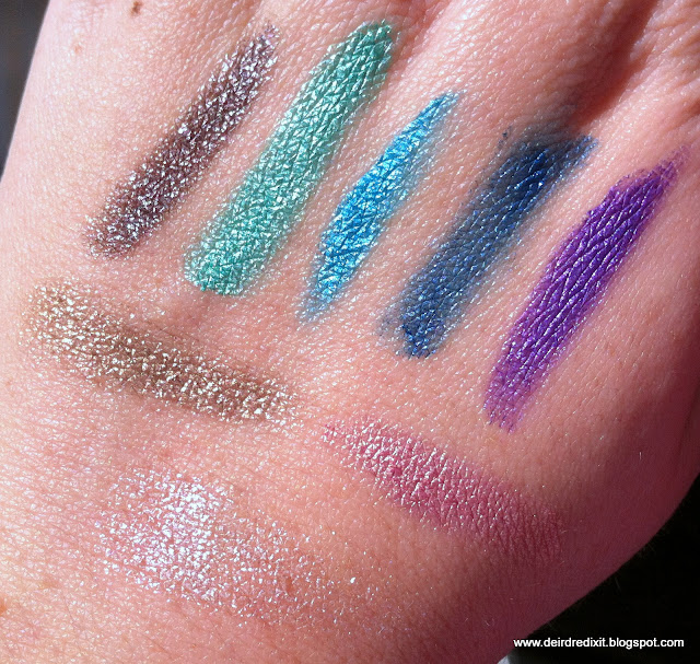 Swatch Ombretti in crema Kiko Fierce Spirit