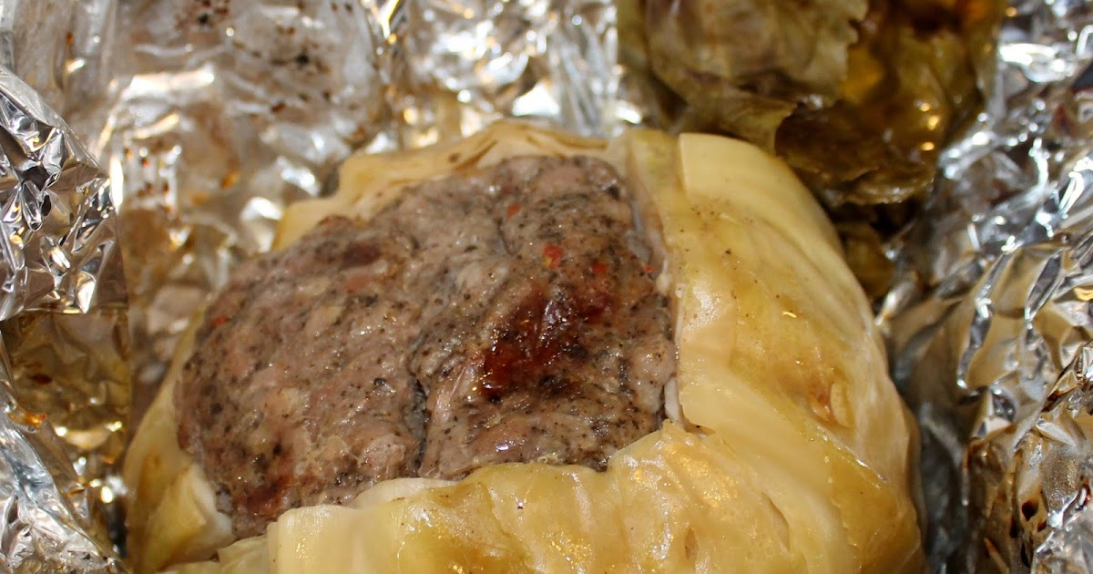 Man That Stuff Is Good!: Grilled Stuffed Cabbage
