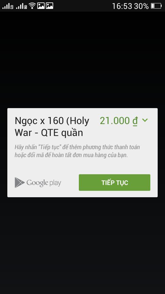 Hướng dẫn nạp Ngọc trong game Holy War - Thánh Chiến Mobile