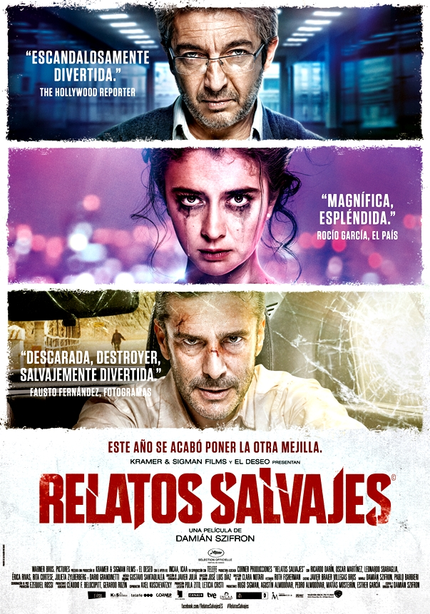 Póster Relatos salvajes